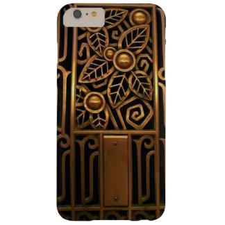Capa Barely There Para iPhone 6 Plus Caso do iPhone 6 do art deco no bronze antigo