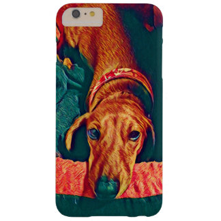Capa Barely There Para iPhone 6 Plus Caso do iphone 6 do Dachshund