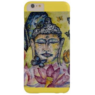 Capa Barely There Para iPhone 6 Plus Caso do iPhone 7 da arte da aguarela de Buddha da