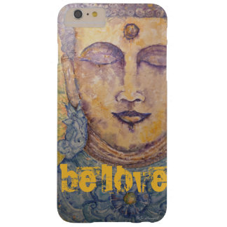 Capa Barely There Para iPhone 6 Plus Caso do iPhone 7 da arte da aguarela de Buddha do