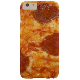 Capa Barely There Para iPhone 6 Plus Caso do telemóvel da pizza de Pepperoni