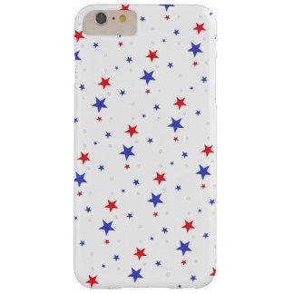 Capa Barely There Para iPhone 6 Plus Caso patriótico do telemóvel das estrelas