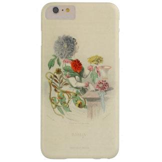 Capa Barely There Para iPhone 6 Plus Chá feericamente da flor do Victorian