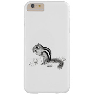Capa Barely There Para iPhone 6 Plus Chipmunk