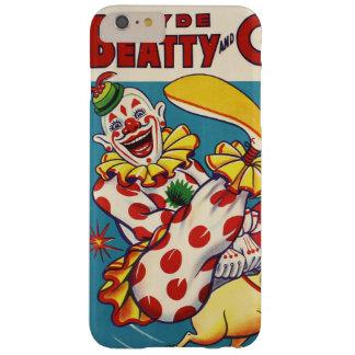 Capa Barely There Para iPhone 6 Plus Clyde Beatty & poster do circo de Bros do Cole