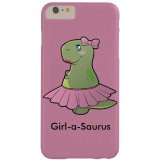 Capa Barely There Para iPhone 6 Plus Cobrir do telefone de T-Rex do dinossauro da