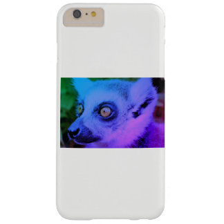 Capa Barely There Para iPhone 6 Plus Cobrir do telefone do Lemur por Jane Howarth