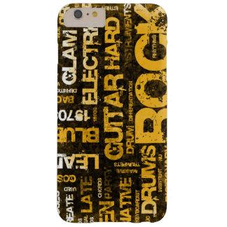 Capa Barely There Para iPhone 6 Plus Convite de festas da música rock como a arte do