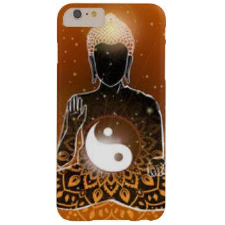 Capa Barely There Para iPhone 6 Plus Design de Ying Yang da meditação de Buddha