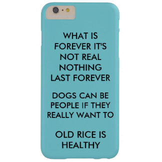 Capa Barely There Para iPhone 6 Plus É um caso legal que fale a verdade