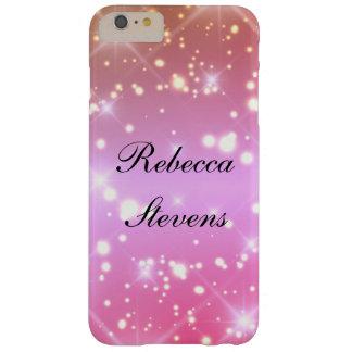 Capa Barely There Para iPhone 6 Plus Encanto cor-de-rosa