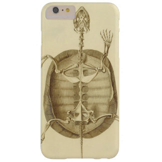 Capa Barely There Para iPhone 6 Plus Esqueleto da tartaruga do vintage
