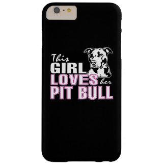 Capa Barely There Para iPhone 6 Plus Esta menina ama seu PITBULL