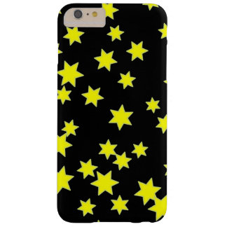 Capa Barely There Para iPhone 6 Plus Estrelas amarelas