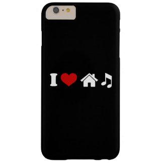 Capa Barely There Para iPhone 6 Plus Eu amo a música da casa