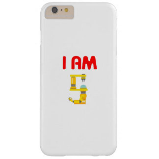 Capa Barely There Para iPhone 6 Plus Eu sou aniversário 2012 da evolução de 5 robôs o