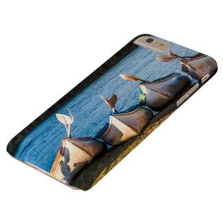 Capa Barely There Para iPhone 6 Plus Eu telefono ao caso S6 protetor com caiaque