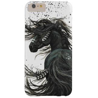 Capa Barely There Para iPhone 6 Plus Exemplo majestoso do cavalo por Bihrle