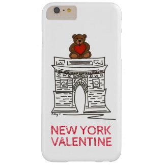 Capa Barely There Para iPhone 6 Plus Exemplo quadrado do urso de ursinho de Washington