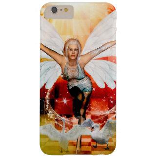 Capa Barely There Para iPhone 6 Plus Fada maravilhosa com cisne