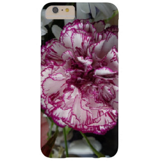 Capa Barely There Para iPhone 6 Plus Flor do primavera do roxo e do branco