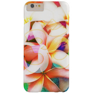 Capa Barely There Para iPhone 6 Plus Flor do templo do Frangipani