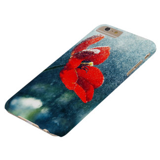 Capa Barely There Para iPhone 6 Plus Flor na chuva