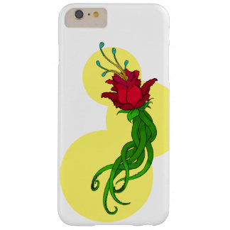Capa Barely There Para iPhone 6 Plus Flor no amarelo