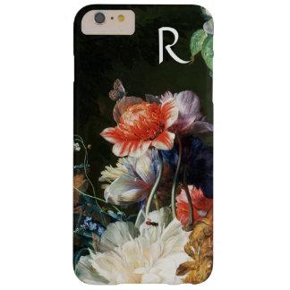 CAPA BARELY THERE PARA iPhone 6 PLUS FLORES BRANCAS DAS ANÊMONAS ROSAS VERMELHA,