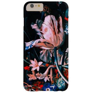 Capa Barely There Para iPhone 6 Plus FLORES COLORIDAS das TULIPAS BRANCAS COR-DE-ROSA