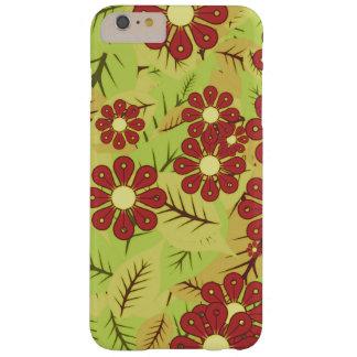 Capa Barely There Para iPhone 6 Plus Folha e flores