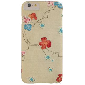Capa Barely There Para iPhone 6 Plus Folhas de outono japonesas retros