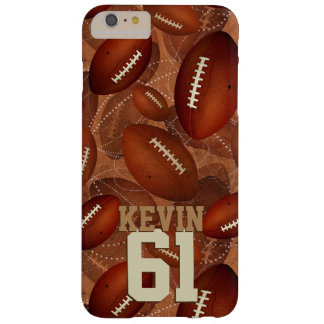 Capa Barely There Para iPhone 6 Plus Footballz!