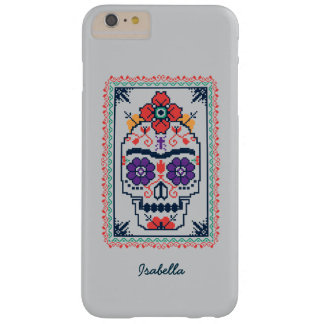 Capa Barely There Para iPhone 6 Plus Frida Kahlo | Calavera
