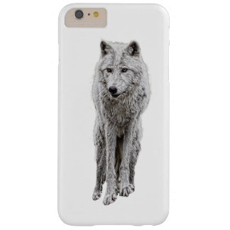Capa Barely There Para iPhone 6 Plus Funcione com os lobos
