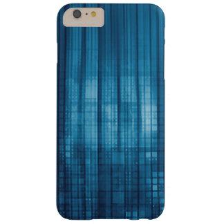 Capa Barely There Para iPhone 6 Plus Fundo do mosaico da tecnologia como uma arte do