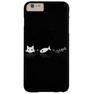 Capa Barely There Para iPhone 6 Plus Gato + Peixes