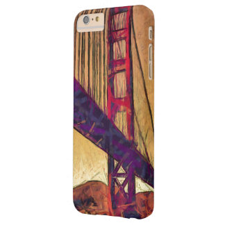 Capa Barely There Para iPhone 6 Plus Golden gate bridge
