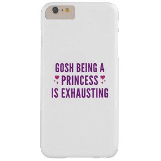 Capa Barely There Para iPhone 6 Plus Gosh princesa