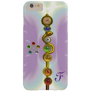 CAPA BARELY THERE PARA iPhone 6 PLUS HASTE DE ASCLEPIUS 7 CHAKRAS, IOGA, ENERGIA