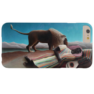 Capa Barely There Para iPhone 6 Plus Henri Rousseau o vintage aciganado do sono