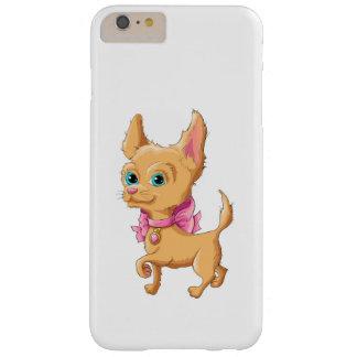 Capa Barely There Para iPhone 6 Plus Ilustração de uma chihuahua bonito do cão