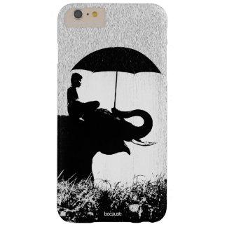 Capa Barely There Para iPhone 6 Plus iPhone 6/6s da arte da chuva do elefante mais mal