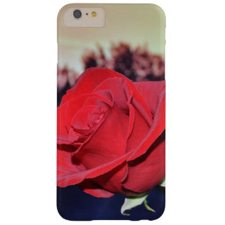 Capa Barely There Para iPhone 6 Plus iPhone 6/6s do cobrir do iphone da rosa vermelha