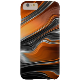Capa Barely There Para iPhone 6 Plus iPhone 6/6S do fluxo do Fractal mais mal lá