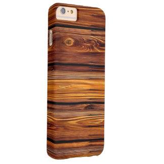 Capa Barely There Para iPhone 6 Plus iPhone de madeira 6/6S do celeiro mais mal lá