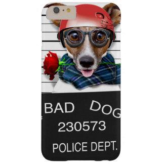 Capa Barely There Para iPhone 6 Plus Jaque engraçado russell, cão do Mugshot