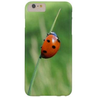 Capa Barely There Para iPhone 6 Plus Joaninha em uma lâmina de grama