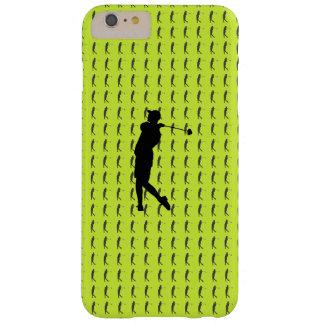 Capa Barely There Para iPhone 6 Plus Jogador de golfe