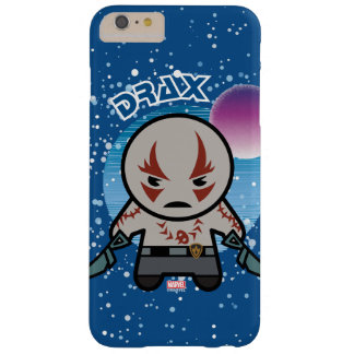 Capa Barely There Para iPhone 6 Plus Kawaii Drax no espaço